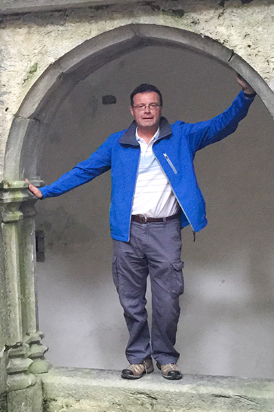 Donal tour guide image.