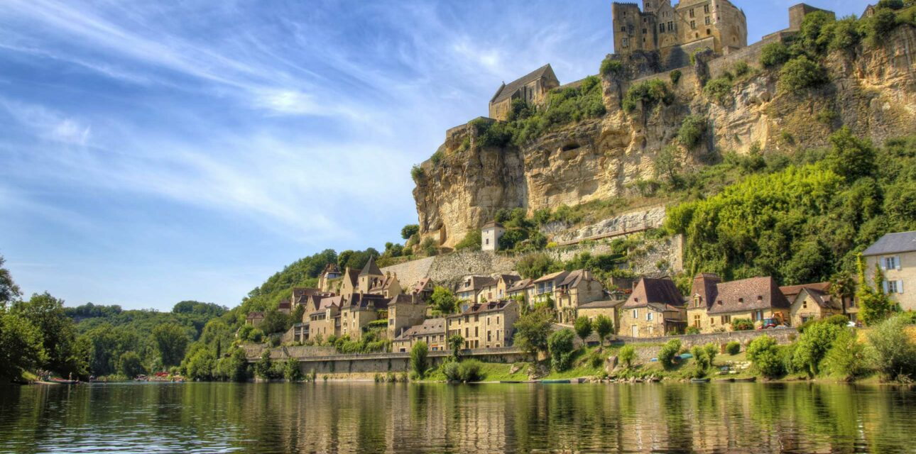 A French cliff.