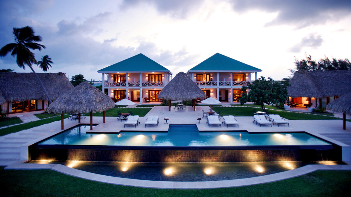 Belize Ambergris Caye Victoria House.