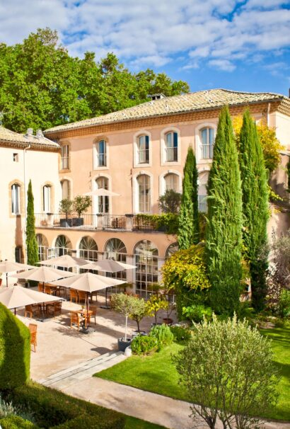 A hotel in Provence france.