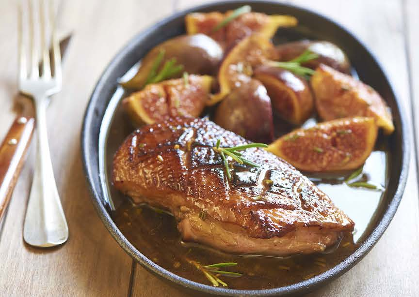 France Provence recipe duck breast with figs