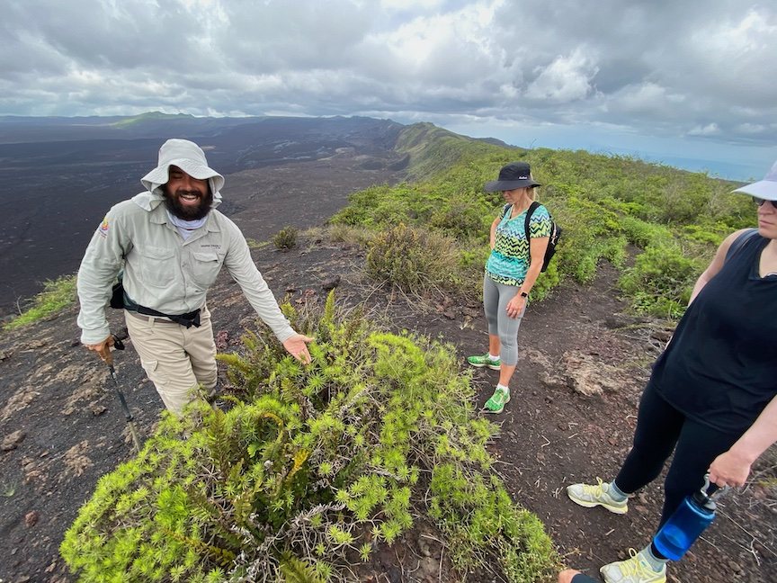 Classic Journeys luxury Galapagos tour guests and guide