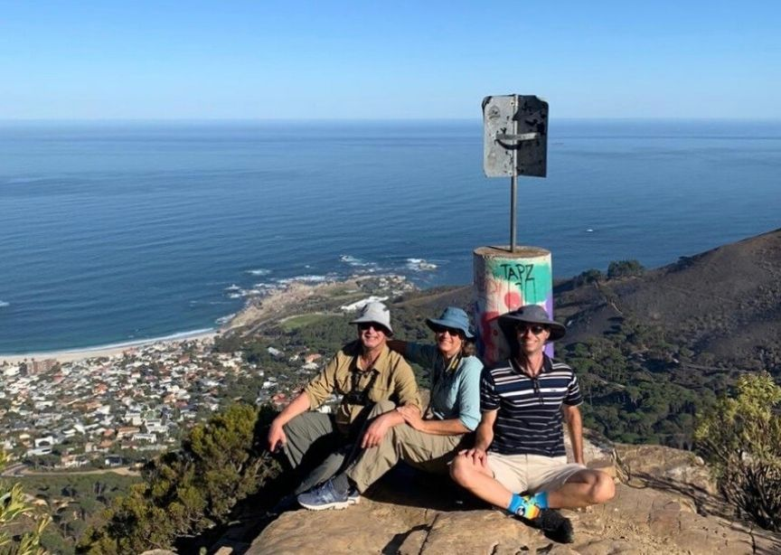 South Africa Guests And Local Guide