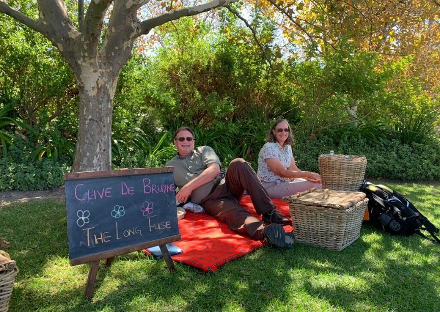 Classic Journeys VIP Guests South Africa Local Guide Wine Picnic