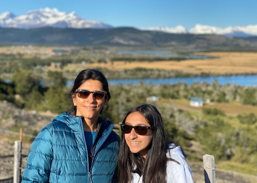 Chile Patagonia Torres Del Paine Mother Daughter Travelers